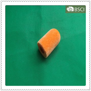 Zjdh-0018 Оранжевый мини-флокированный губчатый роликовый пенопласт