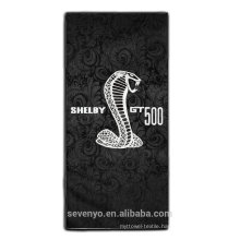 China supplier super absorbent beach towel--handsome cobra