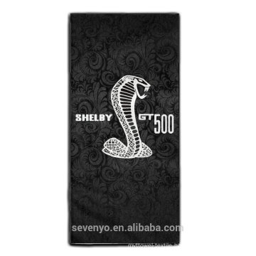 China supplier super absorbent beach towel--handsome cobra