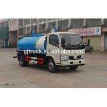 4x2 drive Dongfeng Fecal Camión de succión para 2-6 metros cúbicos