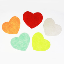 Valentine heart shape diecut felt assortment
