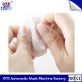 Máquina de fazer almofada de algodão semi-redonda cosmética ultrassônica