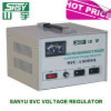 Estabilizador automático de voltaje de alto rendimiento monofásico (Sanyu SVC 0.5kVA a 50kVA)