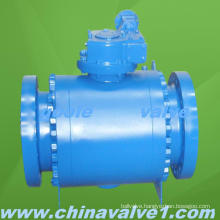Goole 3 PC High Pressure Forged Trunnion Ball Valve Q347f