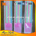 Hot selling flameless spiral birthday cake party candles