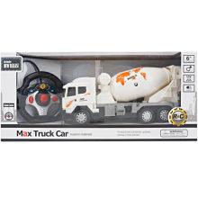 Camioneta de cuatro vías de control remoto de camiones mezclador de juguete