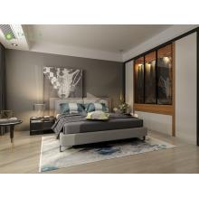 Modern Home and Hotel Melamine Bedroom Furniture Set