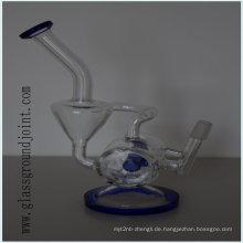 Hitzebeständiges Glas Rauchen Wasserpfeife Shisha mit Boden Joint