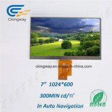 RoHS Certificado Personalizar el tamaño TFT Panel TFT LCD Módulo de visualización