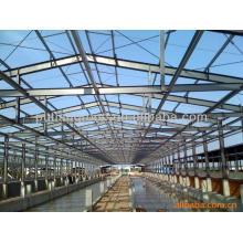 Bâtiment structurel en acier préfabriqué et respectueux de l'environnement