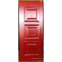 Simple Design Deep Embossing Panel Door