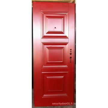 Porte de panneau de gaufrage Deep Design Simple
