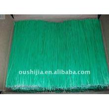 Fil recouvert en PVC rectiligne (usine)