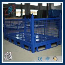 Cage de palette métallique de stockage de haute qualité conçue