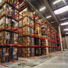 Jracking unidad de rack de almacenamiento de metal en estanterías de almacén