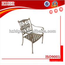 Aluminum dining room chair outdoor furniture