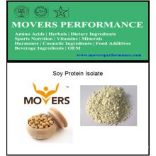 Isolat de protéine de soja de haute pureté de vente chaude