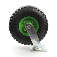 10 inch heavy duty universal inflatable and swivel casters wheel