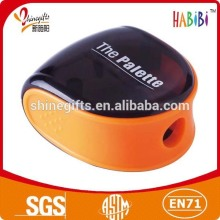 Orange arc pencil sharpener for kids