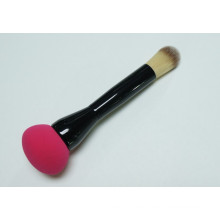 Double-Edged mit Make-up-Schwamm und Synthetic Hair Foundation Pinsel