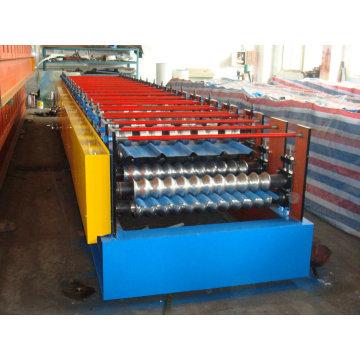 Doppelschicht-Walzenformmaschine