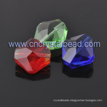 Specialized Hexagon Jewelry Crystal Bead