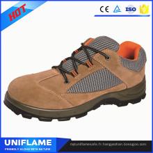 Souliers légers de sécurité de femme de chapeau d'orteil d'acier, chaussures de travail d'hommes Ufa097