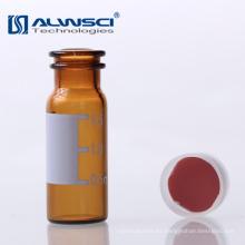 OEM Slit Tipo 11mm Red PTFE Blanco Silicona Septa