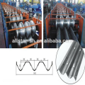 cold rolled highway guardrail steel roll forming machine