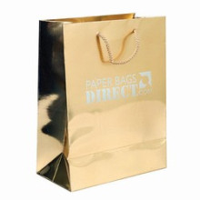 Paper Shopping Bag with Cmyk Printing for Promotion