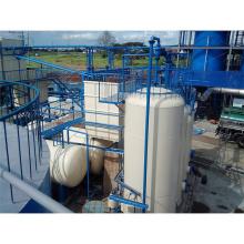 Machine de recyclage d'huile moteur rentable et écologique utilisé transformer les pneus usés en pyrolyse diesel chine