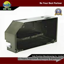 Uso fotográfico que anodiza la caja que trabaja a máquina del aluminio del CNC anodizado