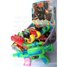Spielzeugpistole mit Süßigkeiten (110611)