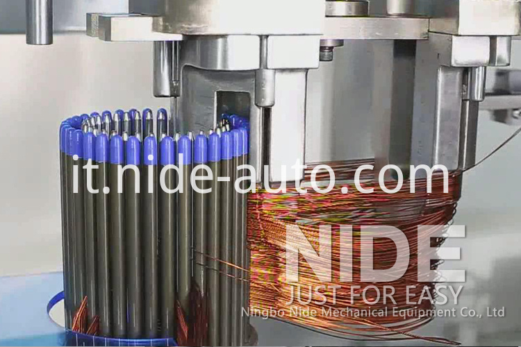 Stator coil winding machine coil winder