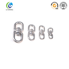Polished swivel eye bolt