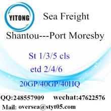 深セン港海貨物輸送のポートモレスビー