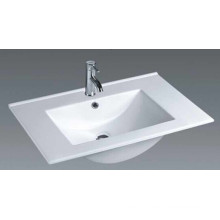 Thin Edge Vanity Ceramic Bathroom Basin (75E)