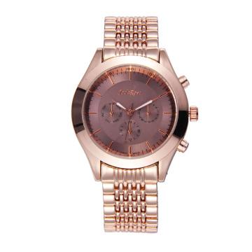 Rose Gold Alloy Men′s Wrist Watch for Waterproof