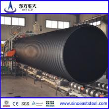 Tubo Corrugado HDPE reforçado de aço de grande diâmetro para água de transpiração