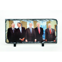 Sublimation Heat Transfer Photo Slate Rock Photo Frame