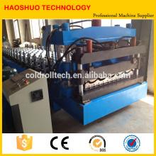 Glasierte Fliesenrollenformmaschine für GI / PPGI Blechbreite 1000 / 1250mm