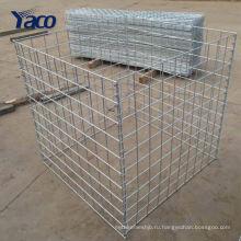 Производитель Китай Корзина gabion 50x50 мм сварные Габионных окне