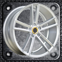 Thin spokes casting alloy wheels