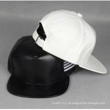 Mode PU Synthetik Leder Hip Hop Trukfit Trucker Caps (YKY3306)