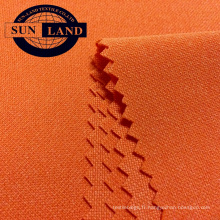 Tissu à séchage rapide en interlock pk 100% polyester pour vêtements de sport