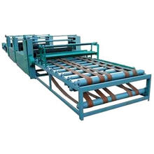 Aluminium straw roof tile machine