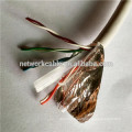 0.5 CCA FTP cat6 lan wire for TV communication