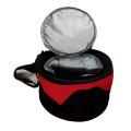 conjunto para piquenique com forno de grelha e saco térmico