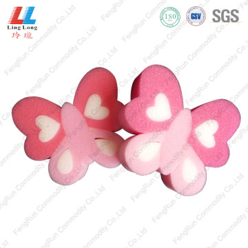 Butterfly pretty bathing sponge item