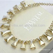 Luxueux collier de cristal autrichien original en cristal en gros